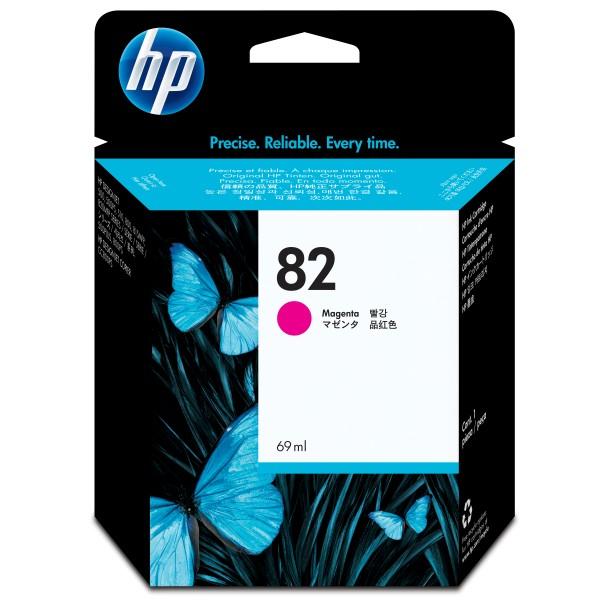 HP Tinte C4912A 82 magenta 4.300 Seiten 69 ml 1 Stück