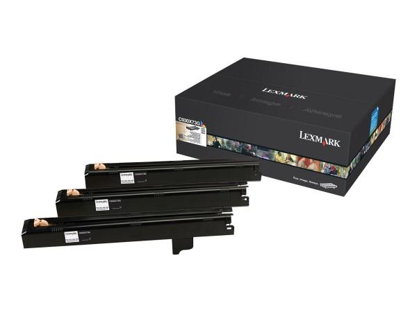 Lexmark Trommel-Kit C930X73G C/M/Y 47.000 Seiten 3 Stück