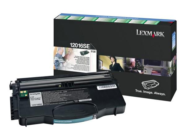 Lexmark Toner 12016SE Schwarz 2.000 Seiten 1 Stück