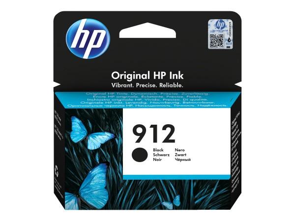 HP Tinte 3YL80AE#BGX 912 Schwarz 300 Seiten 8,29 ml pigmentiert 1 Stück