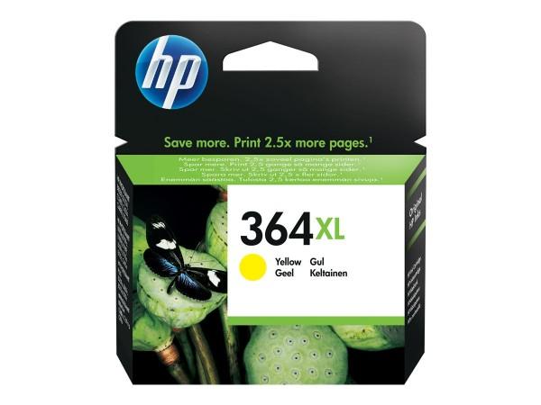 HP Tinte CB325EE 364XL gelb 750 Seiten 6 ml Große Füllmenge 1 Stück