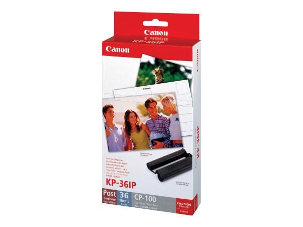 Canon Tinte 7737A001 KP-36 IP Color 36 Seiten + 36 Blatt Fotopapier (10 x 15)