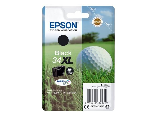 Epson Tinte C13T34714010 34XL Schwarz 1.100 Seiten 16,3 ml 1 Stück
