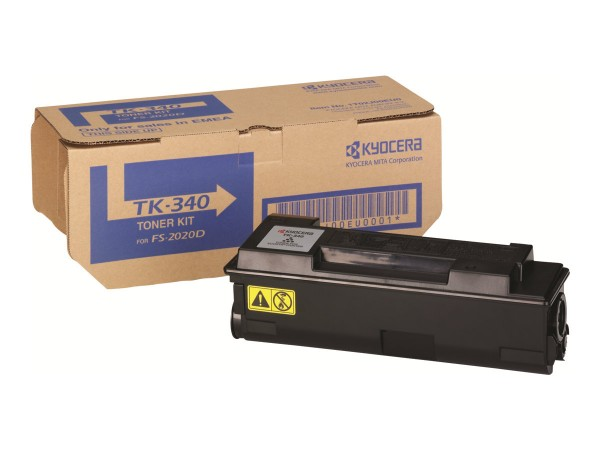 Kyocera Toner 1T02J00EUC TK-340 Schwarz 12.000 Seiten 1 Stück