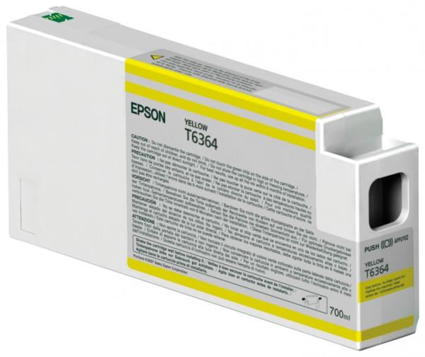 Epson Tinte C13T636400 T6364 gelb 700 ml 1 Stück