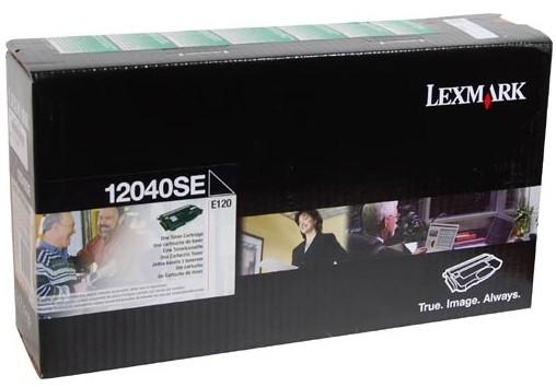 Lexmark Toner 12040SE schwarz 2.000 Seiten 1 Stück