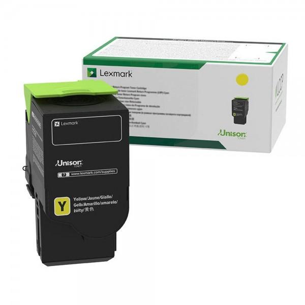 Lexmark Toner 78C20Y0 Gelb 1.400 Seiten 1 Stück