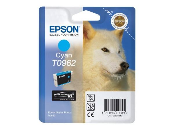 Epson Tinte C13T09624010 T0962 cyan 1.505 Seiten 11,4 ml 1 Stück