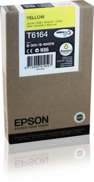 Epson Tinte C13T616400 T6164 gelb 3.500 Seiten 53 ml 1 Stück