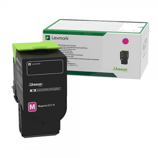Lexmark Toner 78C20M0 Magenta 1.400 Seiten 1 Stück