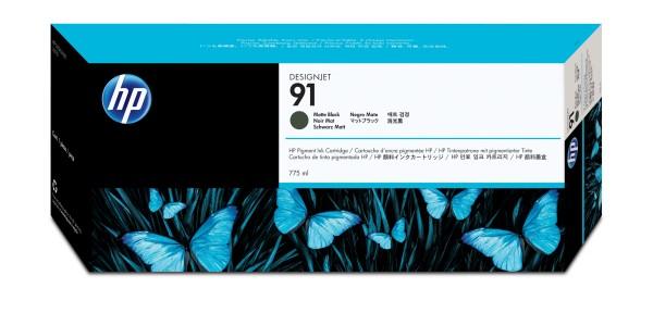 HP Tinte C9464A 91 mattschwarz 775 ml pigmentiert 1 Stück