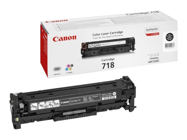 Canon Toner 2662B002 718 Schwarz 3.400 Seiten 1 Stück