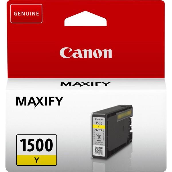 Canon Tinte 9231B001 PGI-1500 Y Gelb 4,5, ml 1 Stück