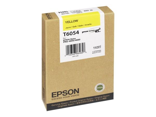 Epson Tinte C13T605400 T6054 gelb 110 ml 1 Stück