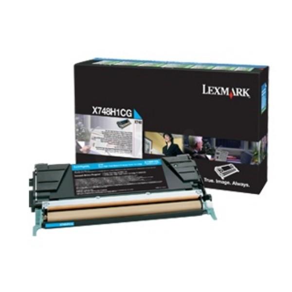 Lexmark Toner X748H3CG cyan 10.000 Seiten 1 Stück