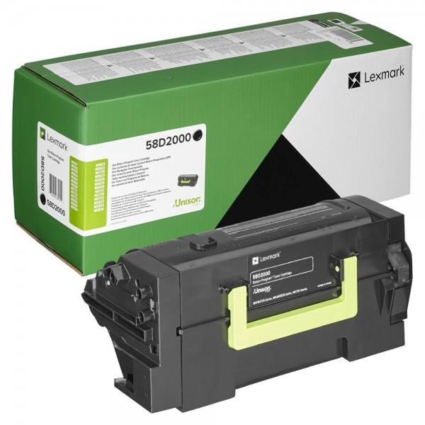 Lexmark Toner 58D2000 Schwarz 7.500 Seiten 1 Stück