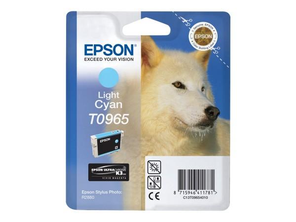Epson Tinte C13T09654010 T0965 Hell Cyan 865 Seiten 11,4 ml 1 Stück