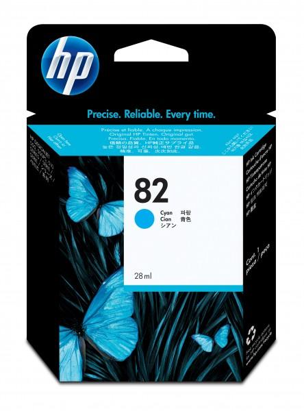 HP Tinte CH566A 82 cyan 28 ml 1 Stück