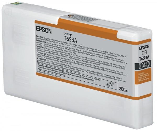 Epson Tinte C13T653A00 T653A orange 200 ml 1 Stück