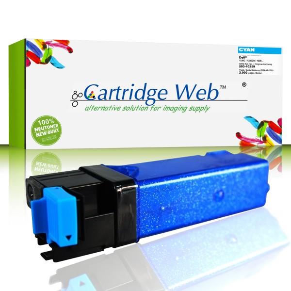CartridgeWeb Toner kompatibel zu Dell 593-10259 KU051 cyan 2.000 Seiten 1 Stück