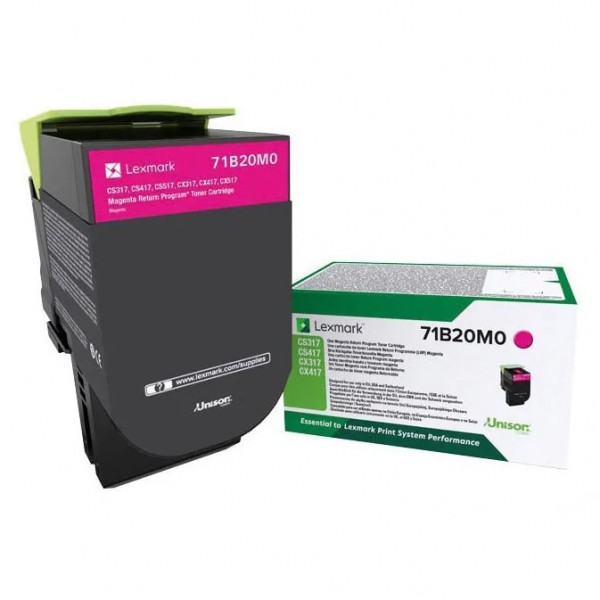 Lexmark Toner 71B20M0 X317 Magenta 2.300 Seiten