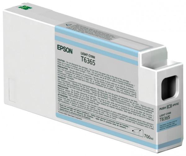 Epson Tinte C13T636500 T6365 Hell Cyan 700 ml 1 Stück
