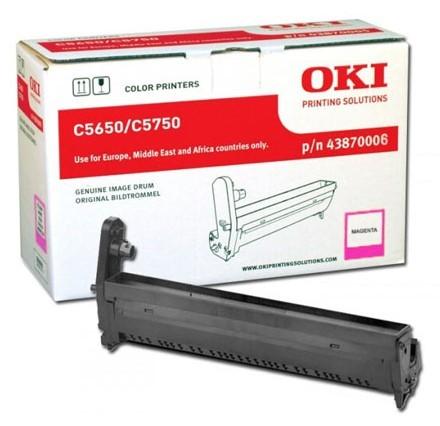 Oki Trommel-Kit 43870006 Magenta 20.000 Seiten