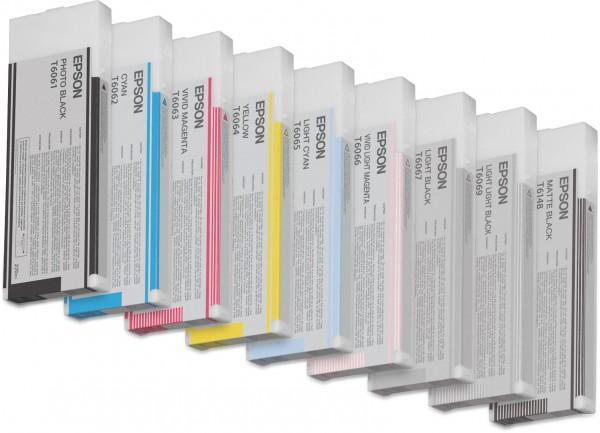 Epson Tinte C13T606500 T6065 Hell Cyan 220 ml 1 Stück
