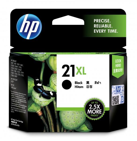 HP Tinte C9351CE 21XL schwarz 475 Seiten 12 ml Große Füllmenge 1 Stück