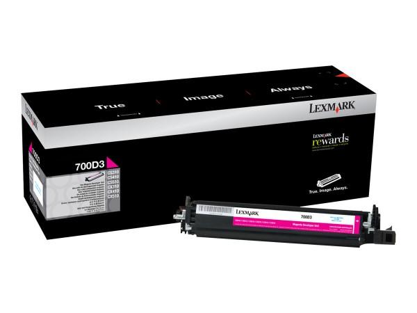 Lexmark Entwickler-Kit 700D3 70C0D30 40.000 Seiten Magenta