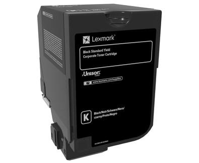 Lexmark Toner 74C2SKE Schwarz 7.000 Seiten 1 Stück