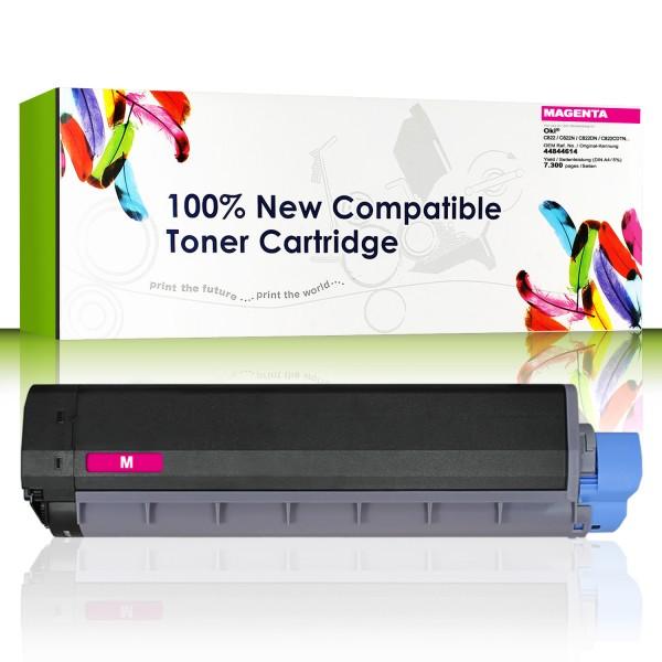 CartridgeWeb Toner kompatibel zu Oki 44844614 magenta 7.300 Seiten 1 Stüc