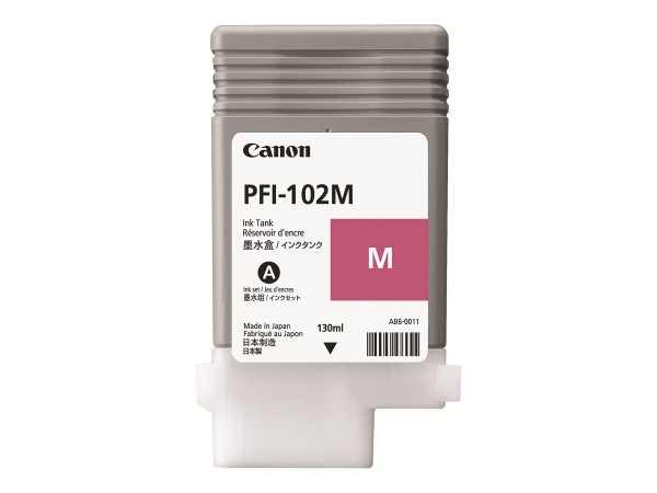 Canon Tinte 0897B001 PFI-102 M Magenta 130 ml 1 Stück