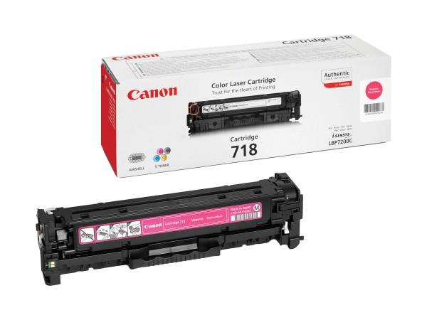Canon Toner 2660B002 718 Magenta 2.900 Seiten 1 Stück