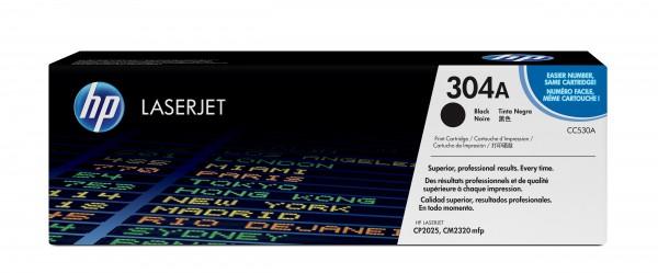 HP Toner CC530A 304A schwarz 3.500 Seiten 1 Stück