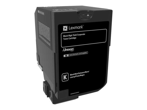 Lexmark Toner 74C2HKE schwarz 20.000 Seiten 1 Stück