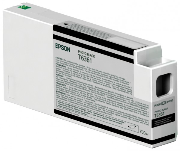 Epson Tinte C13T636100 T6361 Fotoschwarz 700 ml 1 Stück