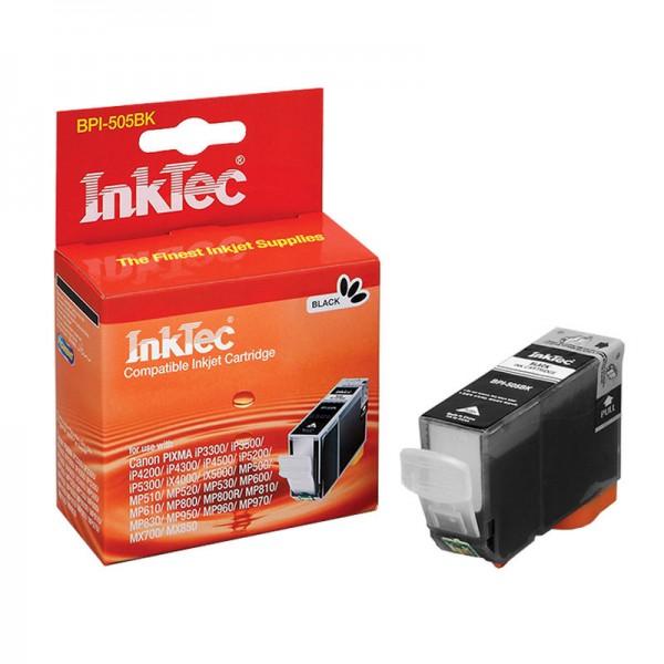 InkTec Tinte kompatibel zu Canon 0628B001 PGI-5 BK schwarz 800 Seiten 26 ml pigmentiert 1 Stück