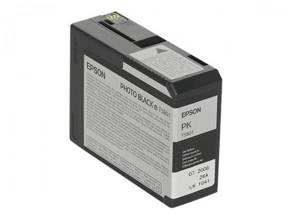 Epson Tinte C13T580100 T5801 Fotoschwarz 80 ml 1 Stück