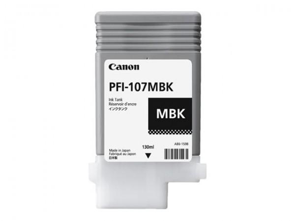 Canon Tinte 6704B001 PFI-107 MBK Mattschwarz 130 ml 1 Stück