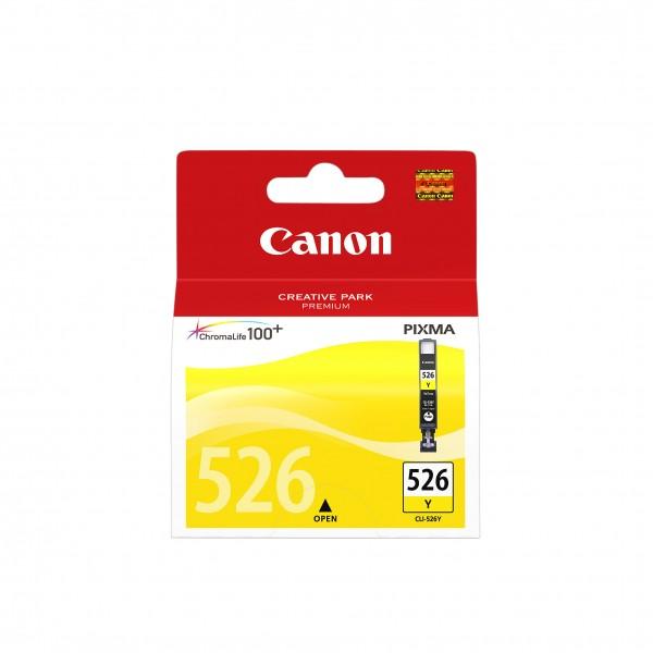 Canon Tinte 4543B001 CLI-526 Y Gelb 450 Seiten 9 ml 1 Stück