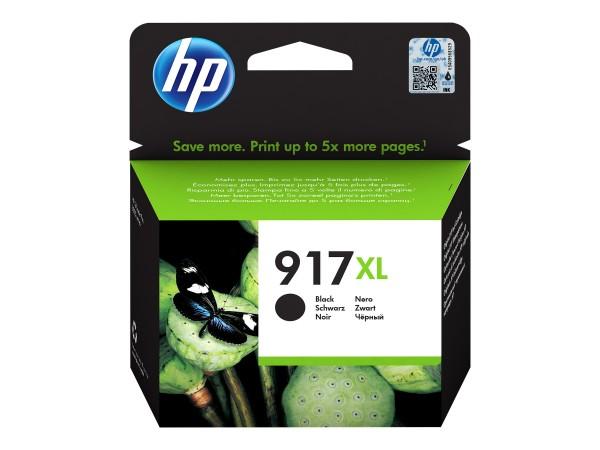 HP Tinte 3YL85AE 917XL Schwarz 1.500 Seiten 39,2 ml Große Füllmenge 1 Stück