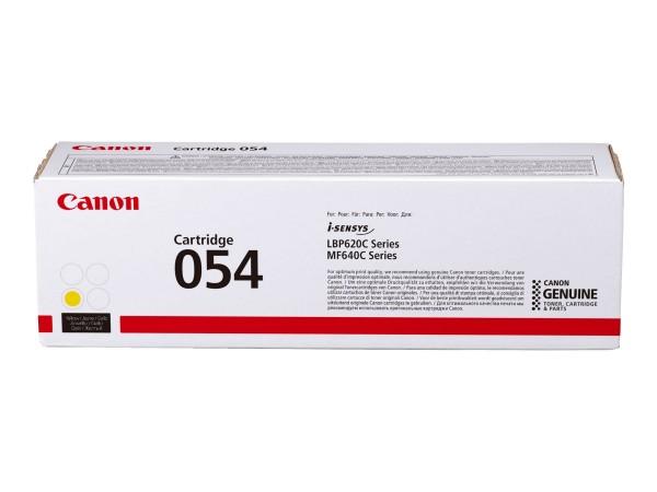 Canon Toner 3025C002 054 H Gelb 2.300 Seiten Große Füllmenge 1 Stück