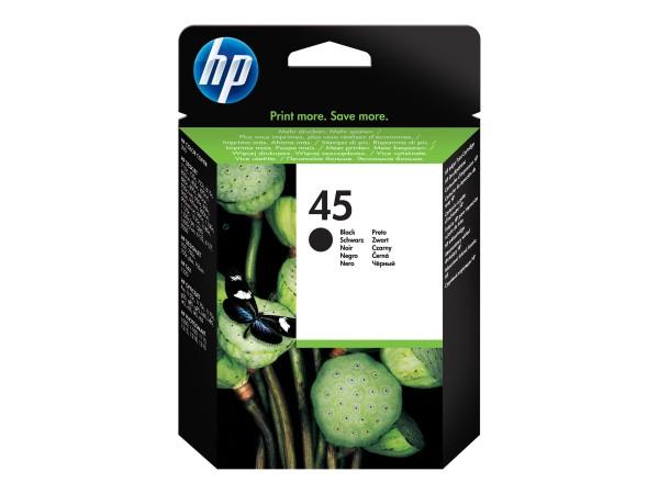 HP Tinte 51645AE 45 schwarz 930 Seiten 42 ml 1 Stück