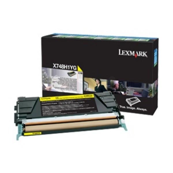 Lexmark Toner X748H3YG gelb 10.000 Seiten 1 Stück