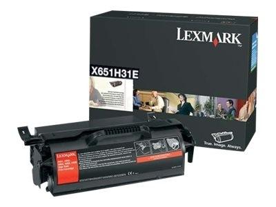 Lexmark Toner X651H31E schwarz 25.000 Seiten 1 Stück