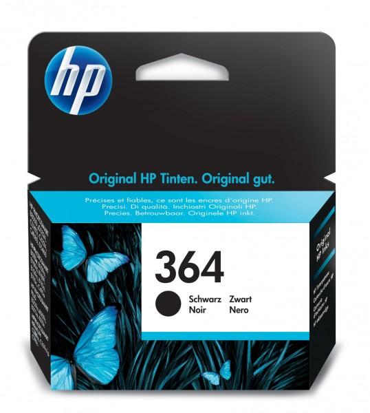 HP Tinte CB316EE 364 schwarz 250 Seiten 6 ml 1 Stück