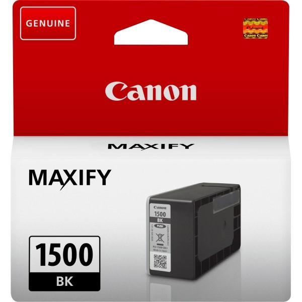 Canon Tinte 9218B001 PGI-1500 BK Schwarz 12,4 ml 1 Stück