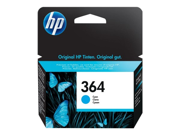 HP Tinte CB318EE 364 cyan 300 Seiten 3 ml 1 Stück
