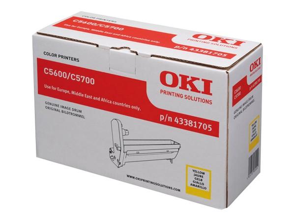 Oki Trommel-Kit 43381705 Gelb 20.000 Seiten 1 Stück